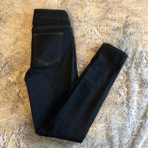 Eddie Bauer Slightly Curvy, Size 0, Dark Wash Jean